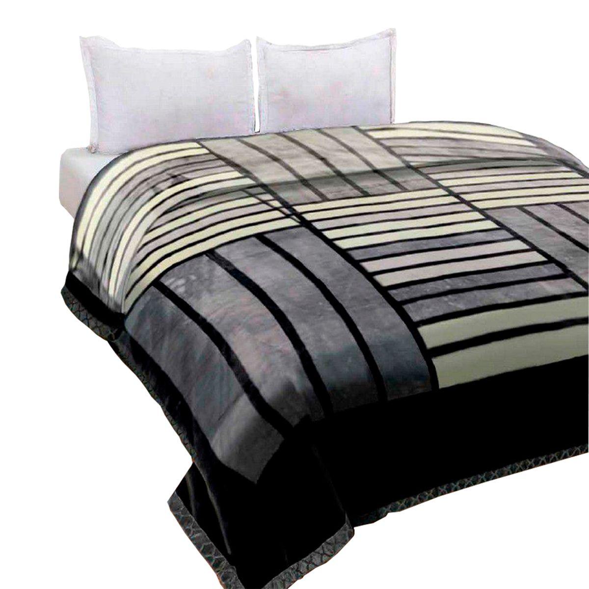 Cobertor Raschel Plus King Poliester Bering 220x240cm
