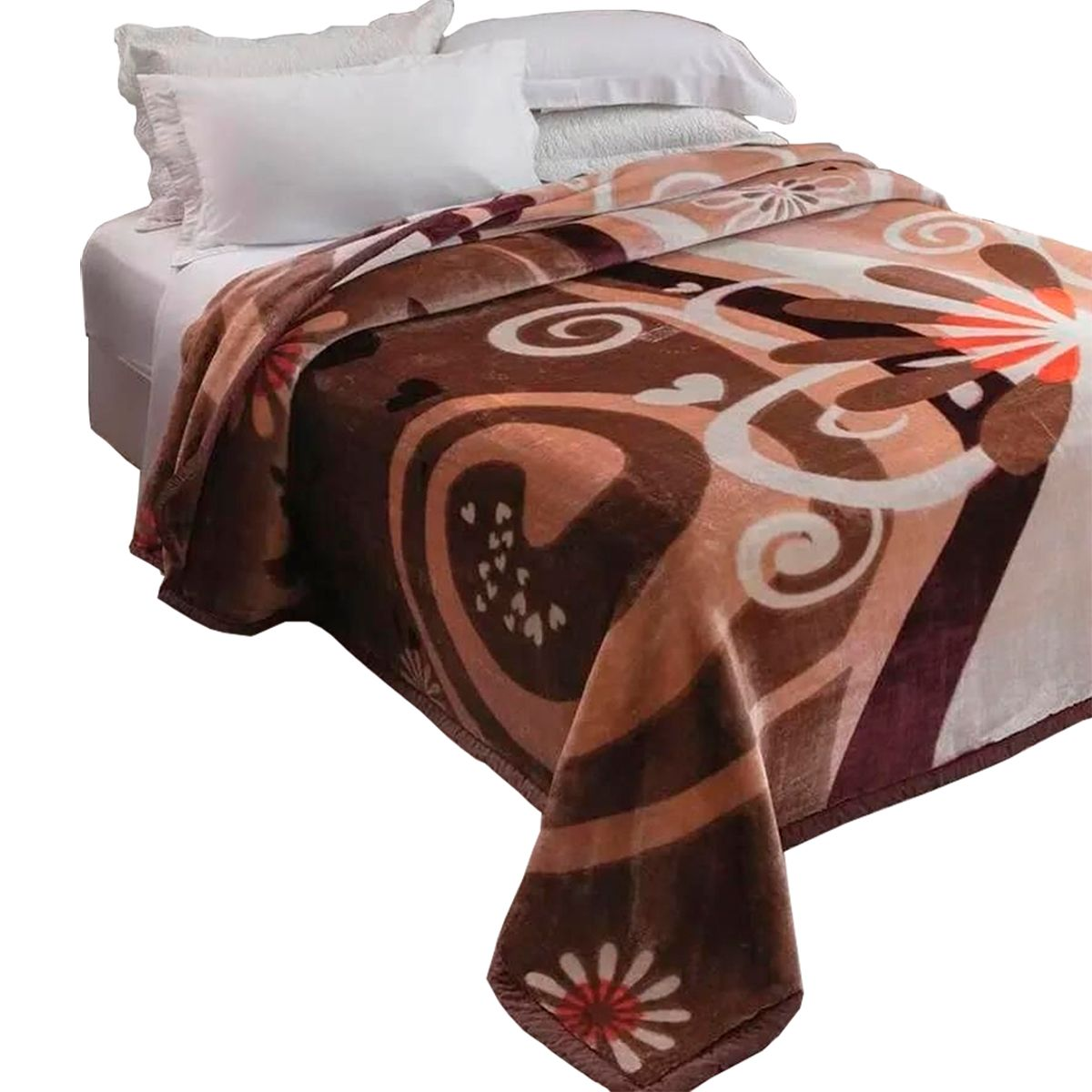 Cobertor raschel Plus King Poliester Marnel 220x240cm
