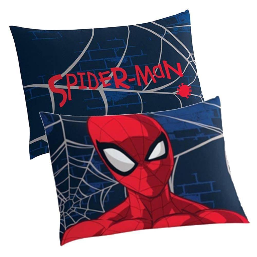 Fronha Infantil Para Travesseiro Spider Man Azul Marinho Lepper