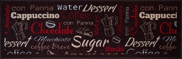 Jogo De Pia 3 Pcs 110x36/60x36 Cafe Marrom