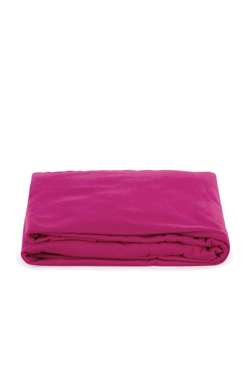 Lençol Avulso Casal Malha Com Elastico Pink Bouton