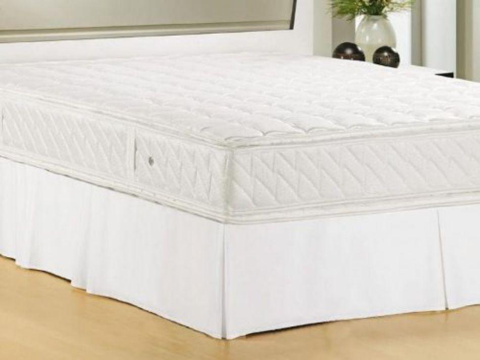 Saia Para Cama Box Granite Solteiro Marfim Ou Branco 188x88x35