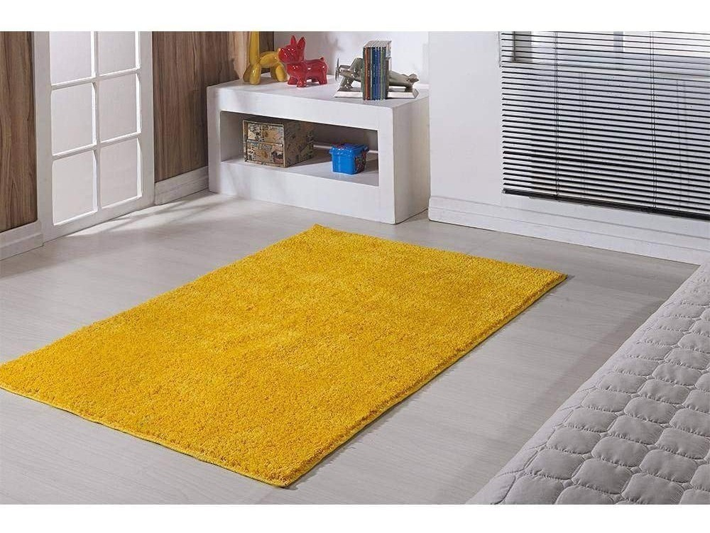 Tapete para Sala/Quarto Oasis Classic 1,50 X 2,00 Amarelo Canario