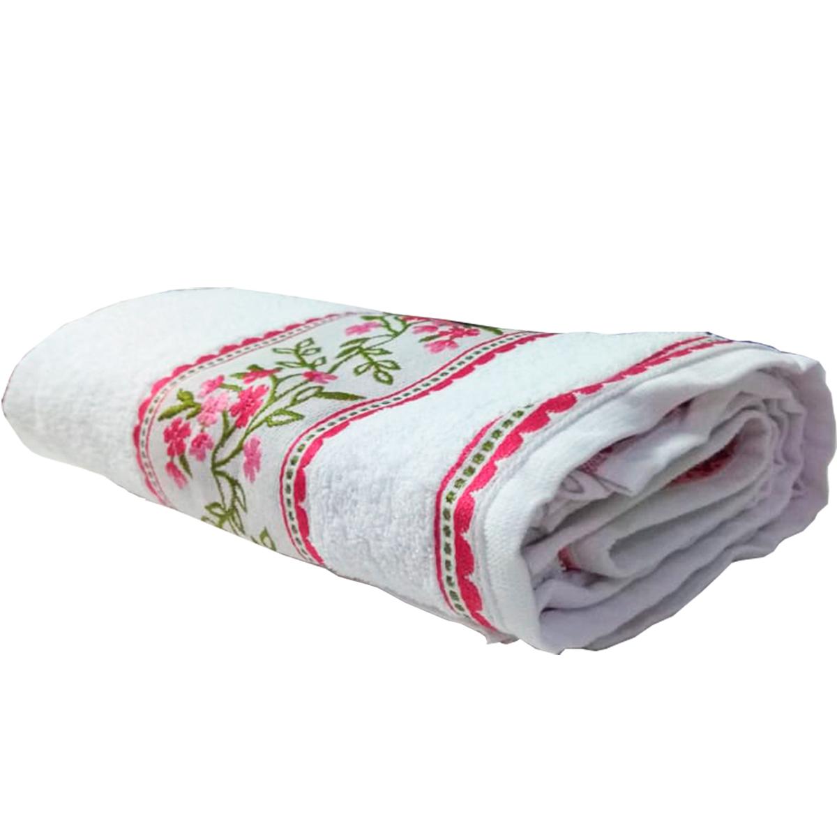 Toalha de Banho Candy Branca Lufamar