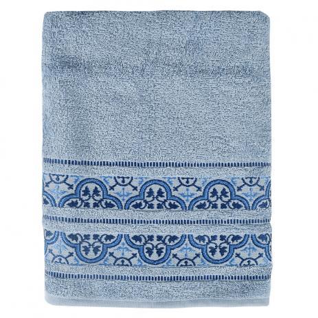 Toalha De Banho Coimbra Azul - Karsten