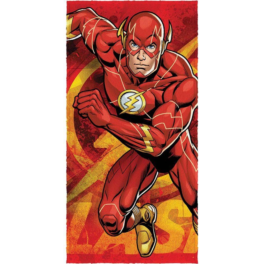 Toalha de Banho Felpuda Flash Liga da Justiça - Lepper
