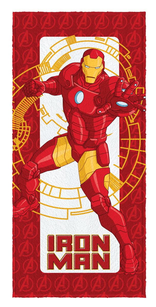 Toalha de Banho Felpuda infantil Avengers  Iron Man mod 2