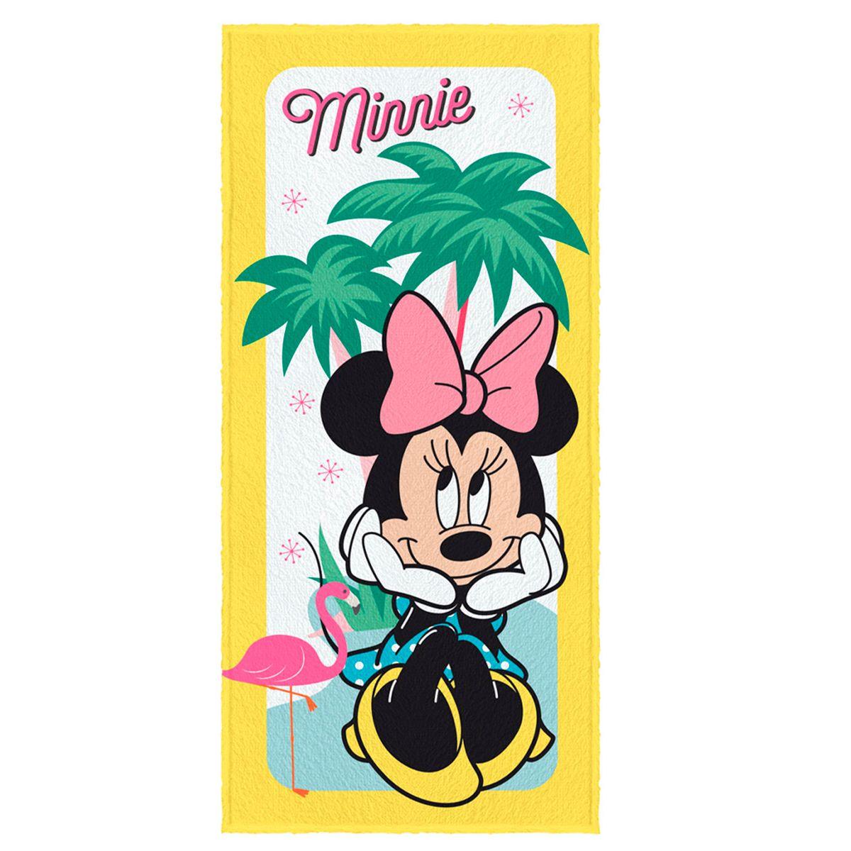 Toalha de Banho Felpuda infantil Minnie Mod 2