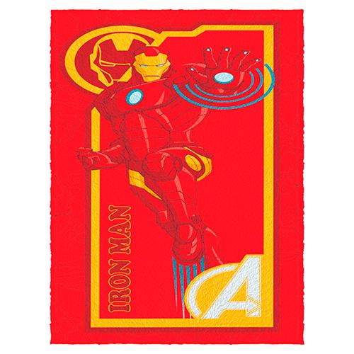 Toalha De Banho Infantil Avengers MOD 2 Felpuda-Lepper