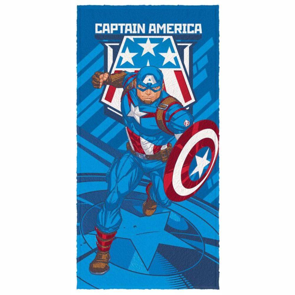 Toalha De Banho Infantil Avengers Mod 5 Felpuda-Lepper