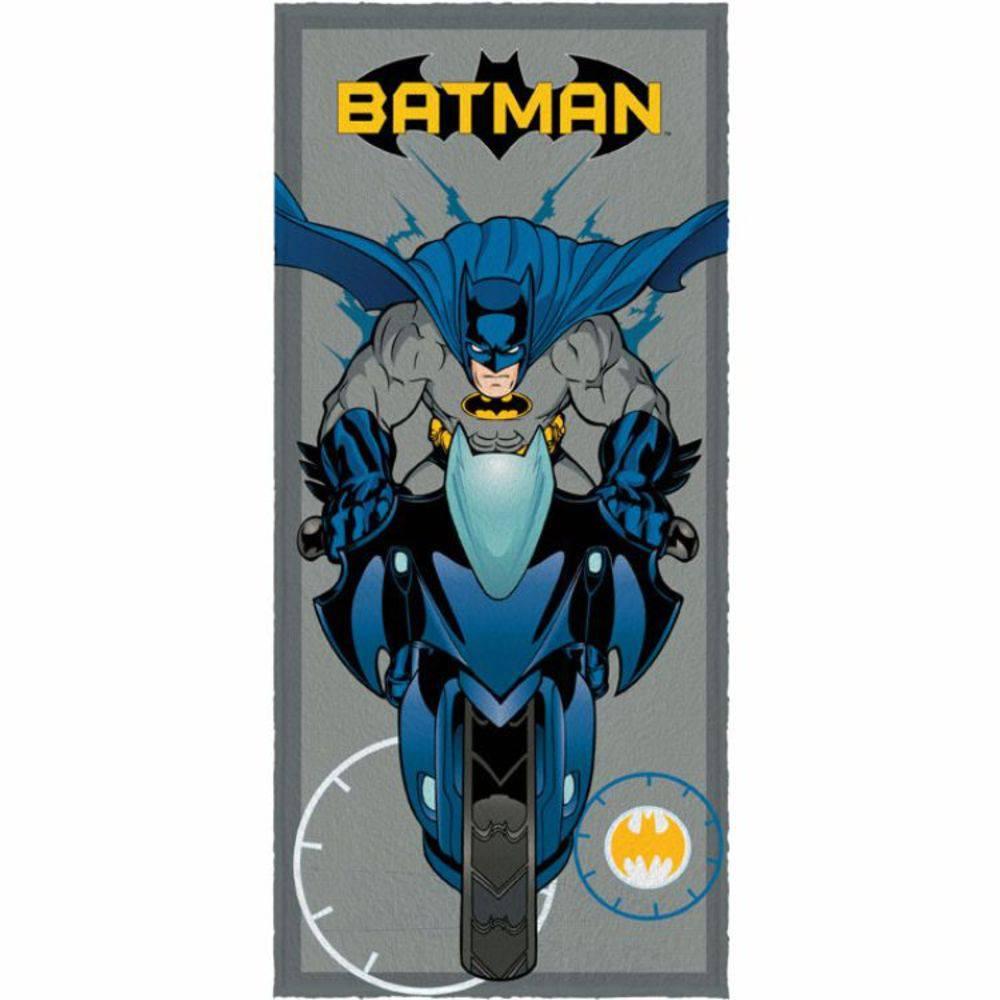 Toalha De Banho Infantil  Batman Mod 3 Felpuda-Lepper