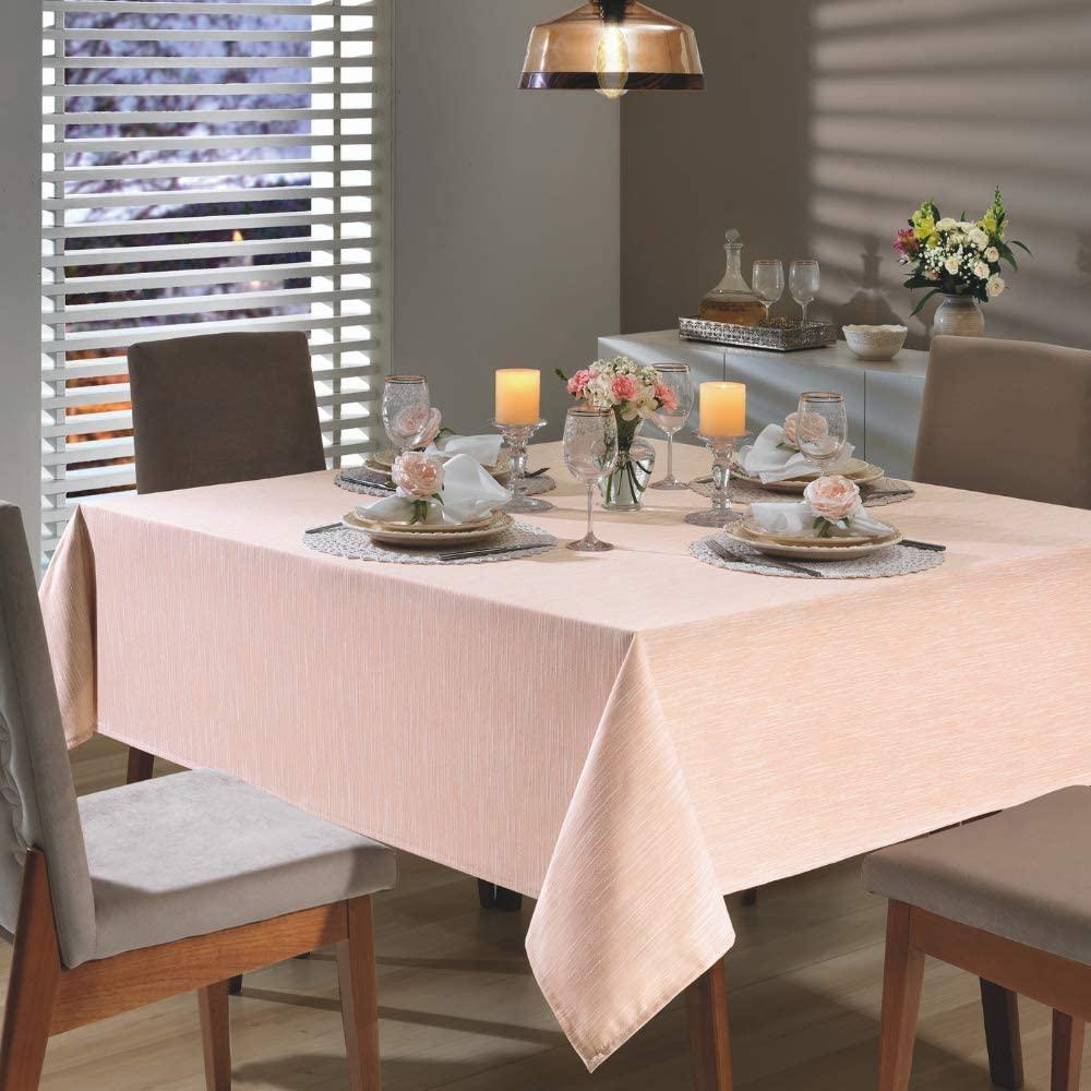 Toalha de mesa Clean Passion 160x160- Pessego