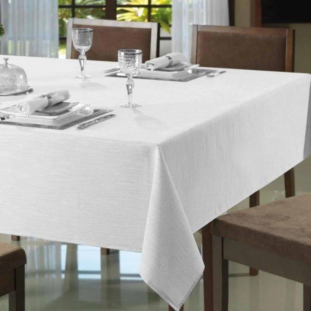 Toalha de mesa Clean Passion 160x160 - Pre-Alvejado