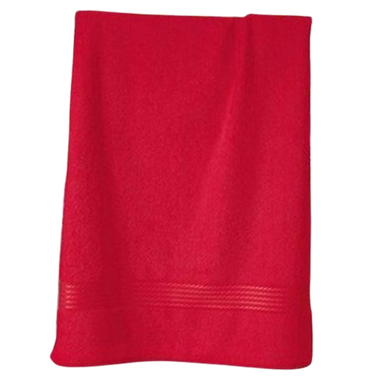 Toalha de Rosto Dohler Prisma 50x80 Vermelho