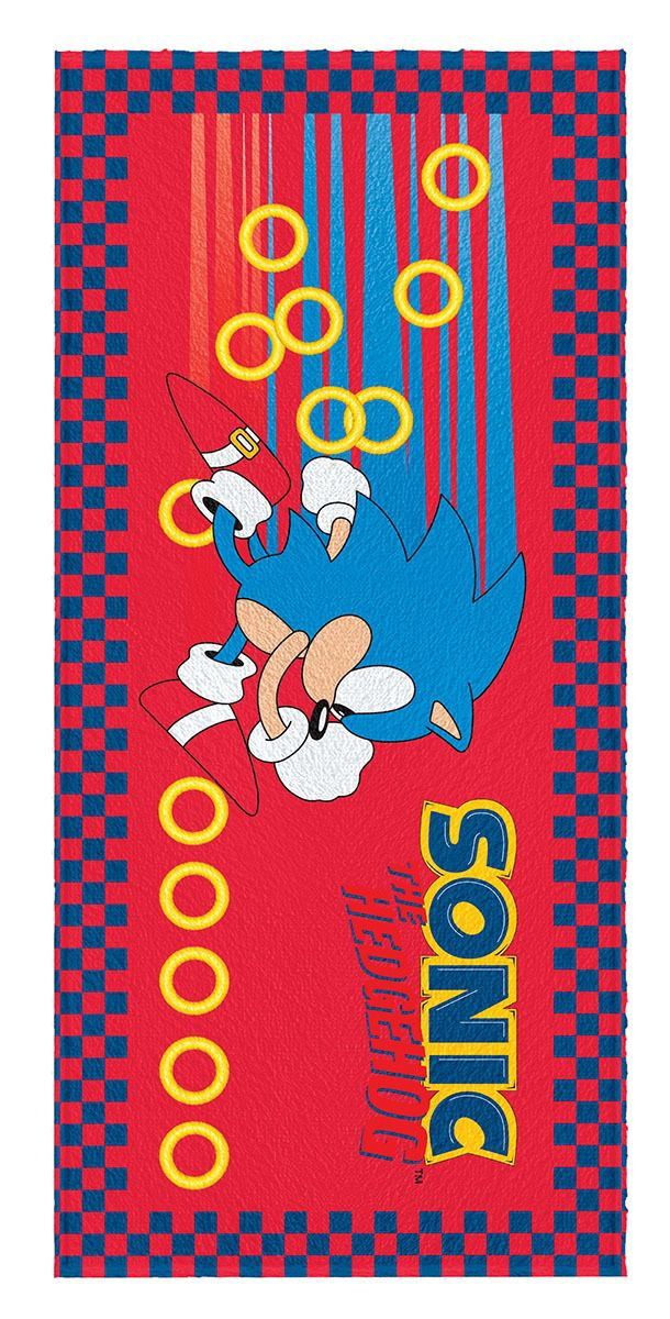 Toalha Felpuda Sonic Lepper Mod 5