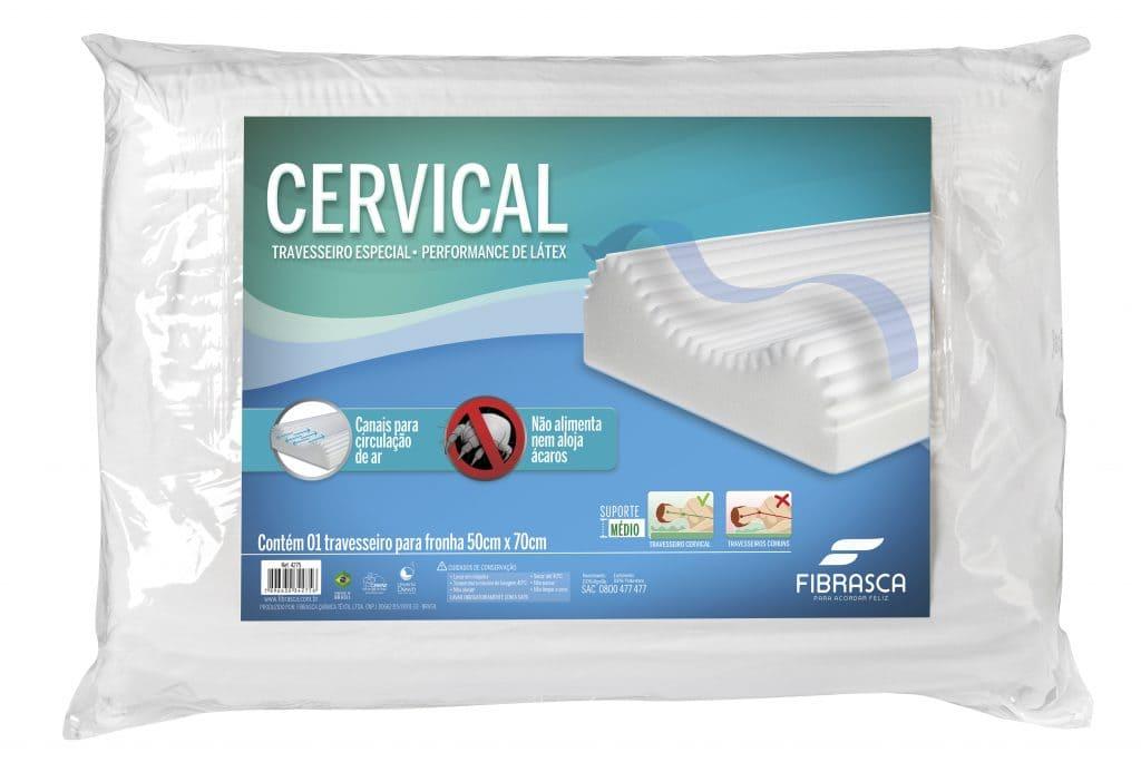 Travesseiro Cervical - Fibrasca
