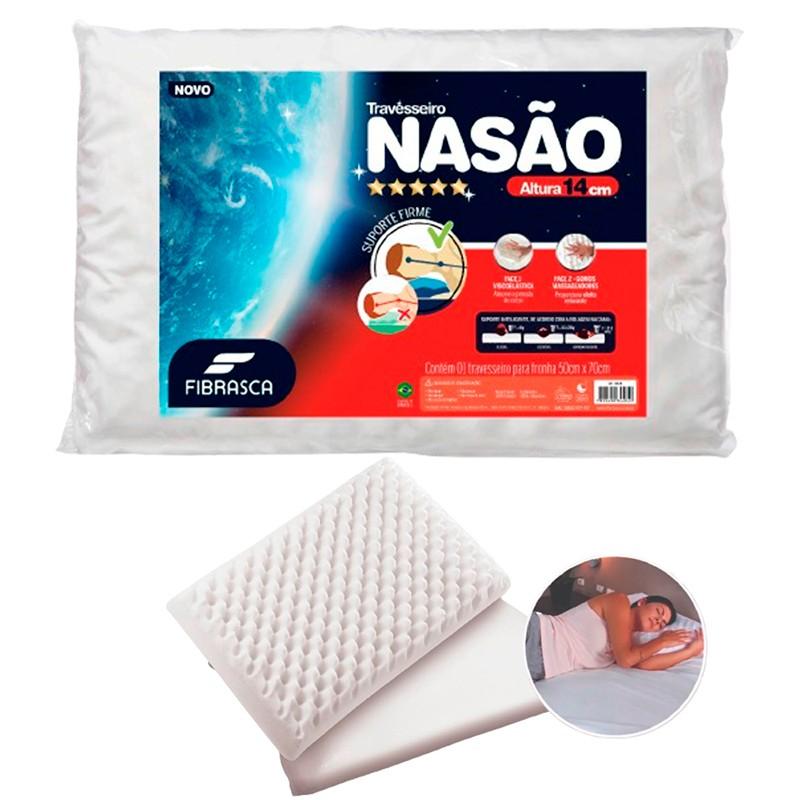 Travesseiro Nasa Alto Nasão Para Fronhas 50x70
