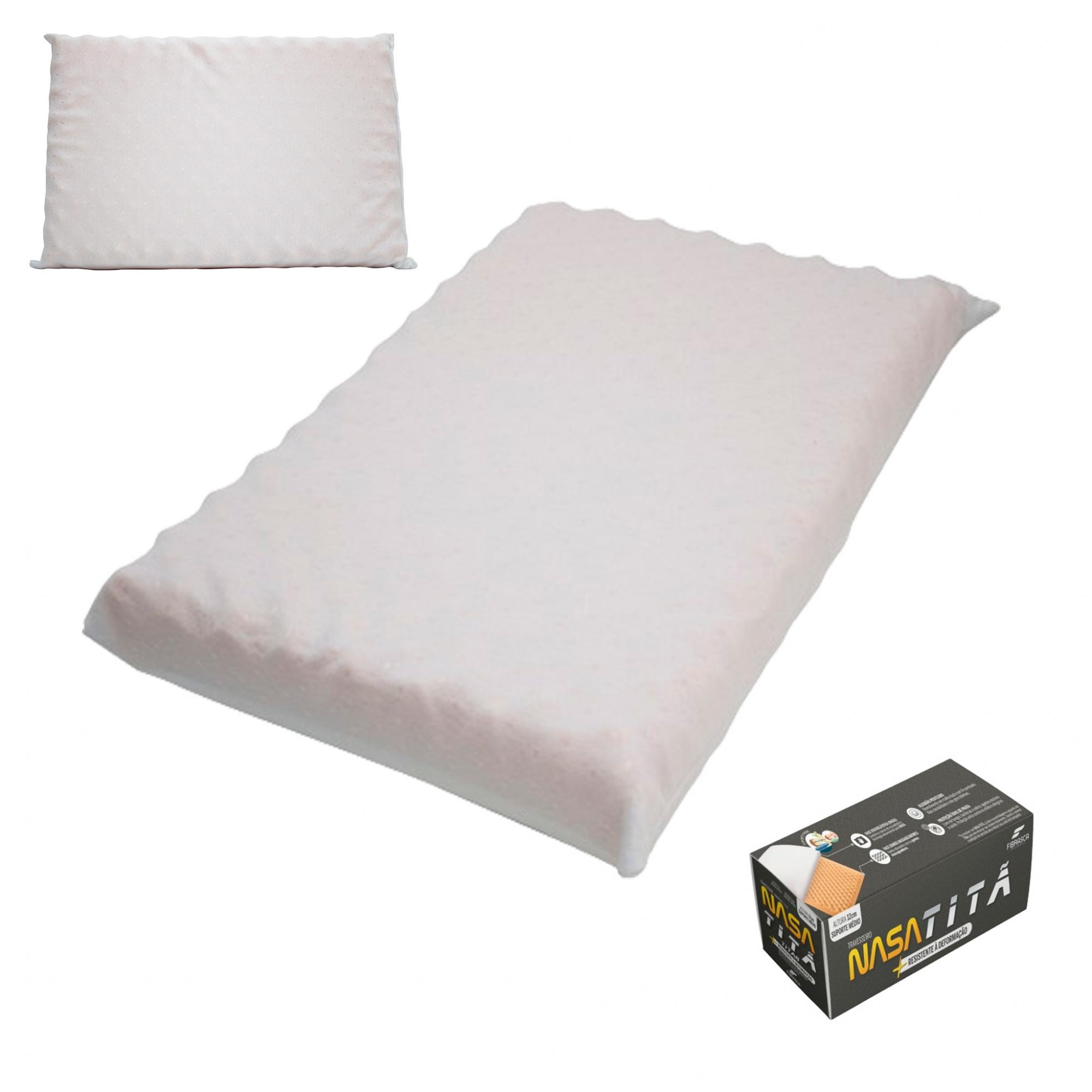 Travesseiro Nasa Titã P/ Fronhas 50x70cm - Fibrasca