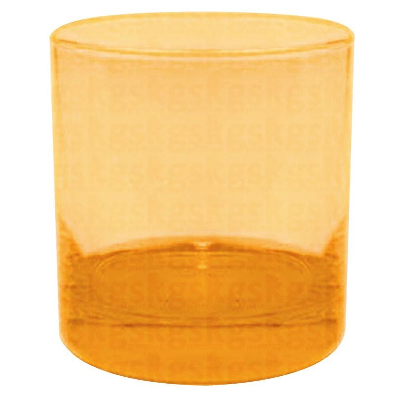 Copo whisky - laranja