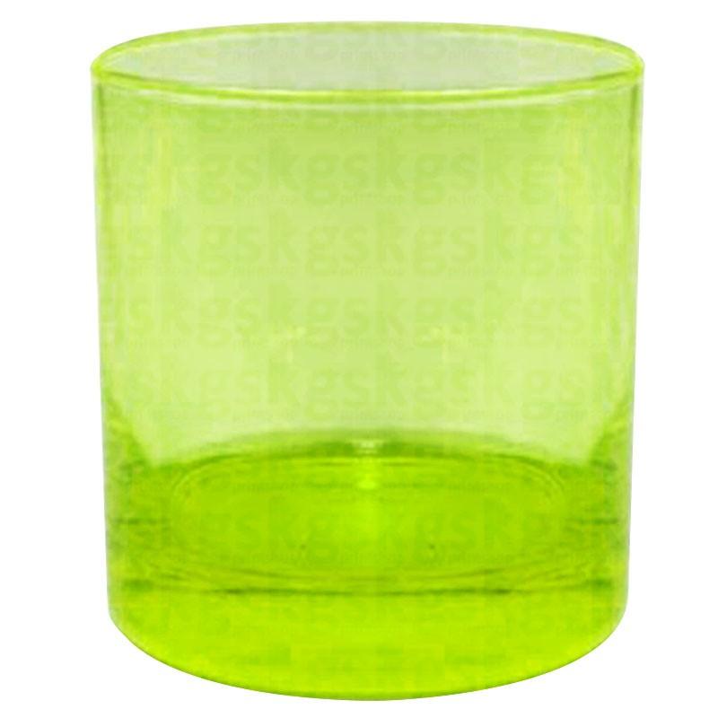 Copo whisky - verde