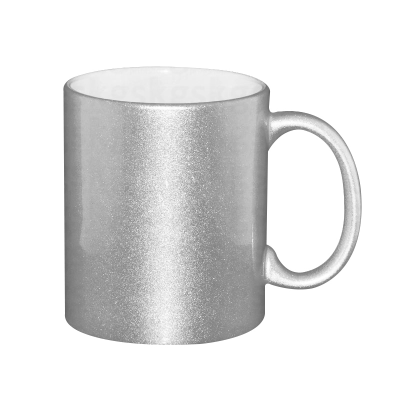 Caneca perolizada prata