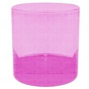 Copo whisky - rosa