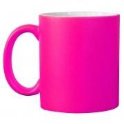 Caneca neon - rosa