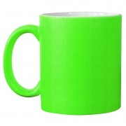 Caneca neon - verde
