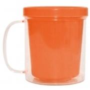 Caneca foto - laranja