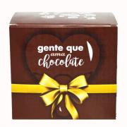 Caixa para caneca chocolate - pacote com 10 unidades