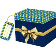 Caixa para Caneca Peixe com tag - pacote com 10 unidades