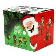 Caixinha para caneca Papai Noel - pacote com 10 unidades