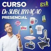 CURSO DE SUBLIMAÇÃO - PRESENCIAL
