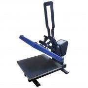 Prensa plana 38x38cm - boca de jacaré (Azul)