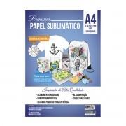 PROMO - 5 pct papel sublimático A4 + 1 fita térmica