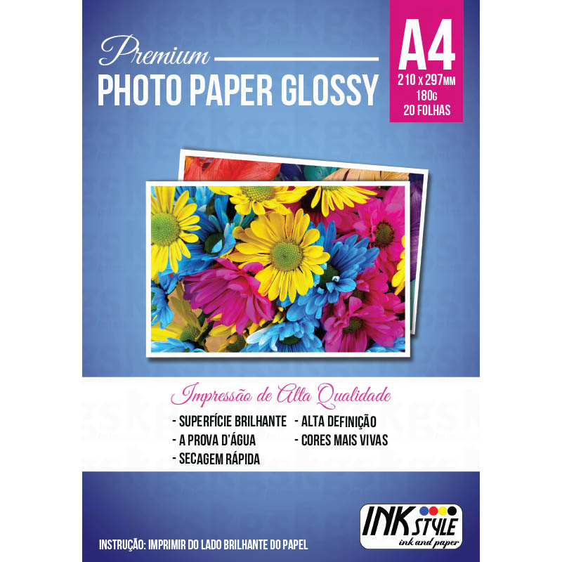Photo paper glossy