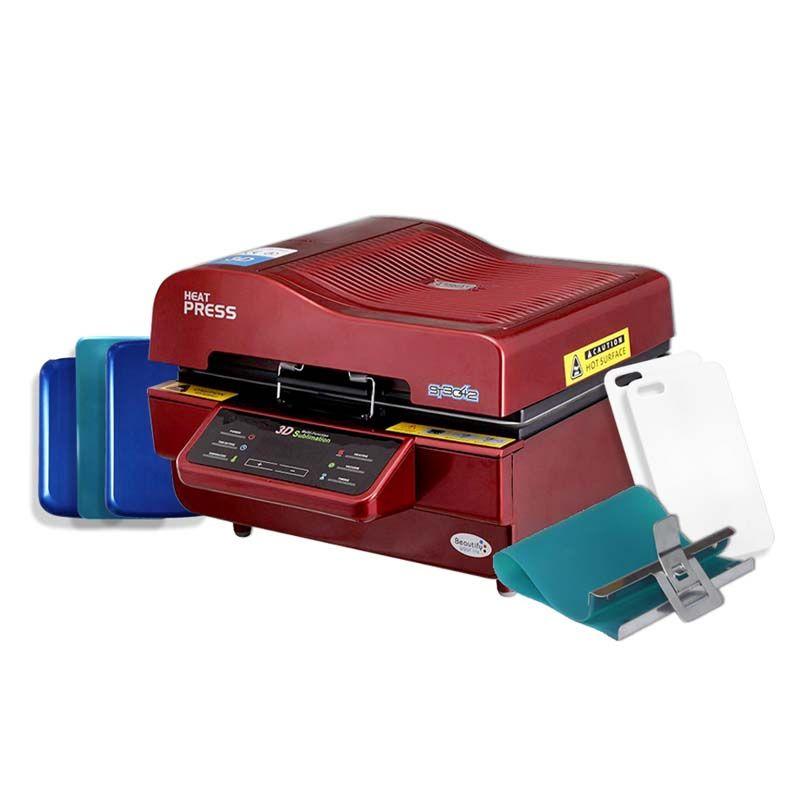 Combo A - Prensa 3D grande 110V ou 220V