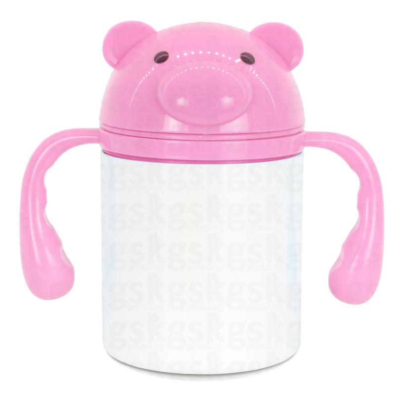 Squeeze infantil 250ml - rosa