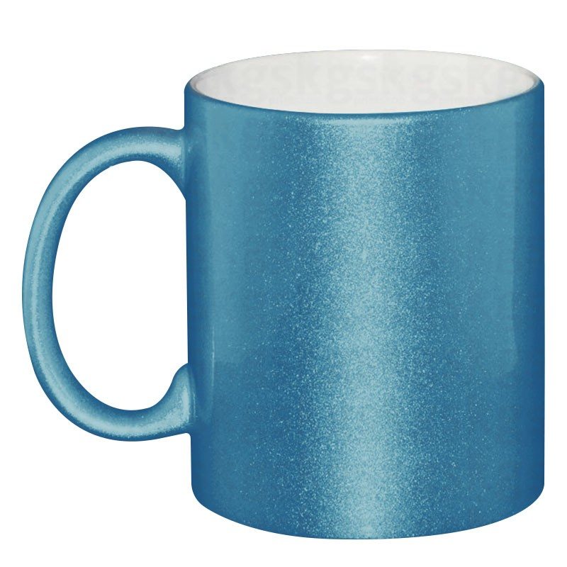 Caneca perolizada azul