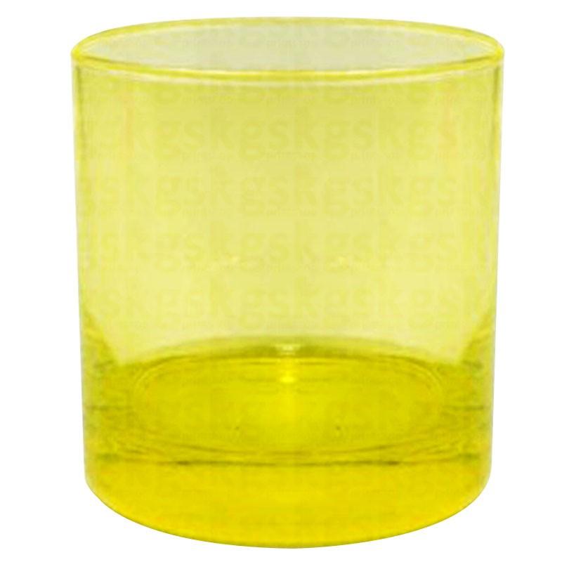 Copo whisky - amarelo