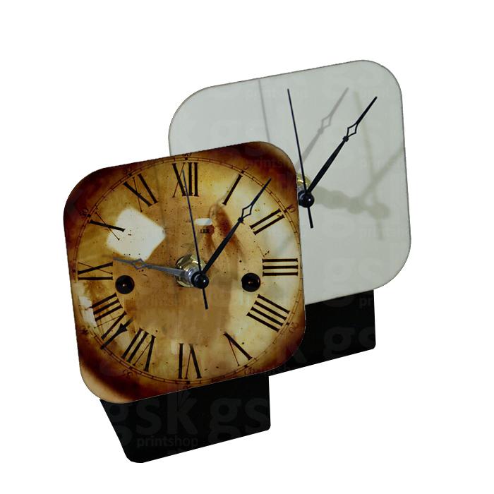 Relógio de mesa - MDF