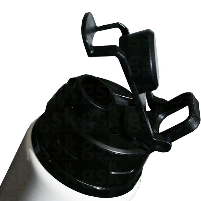 Squeeze 750ml - tampa preta