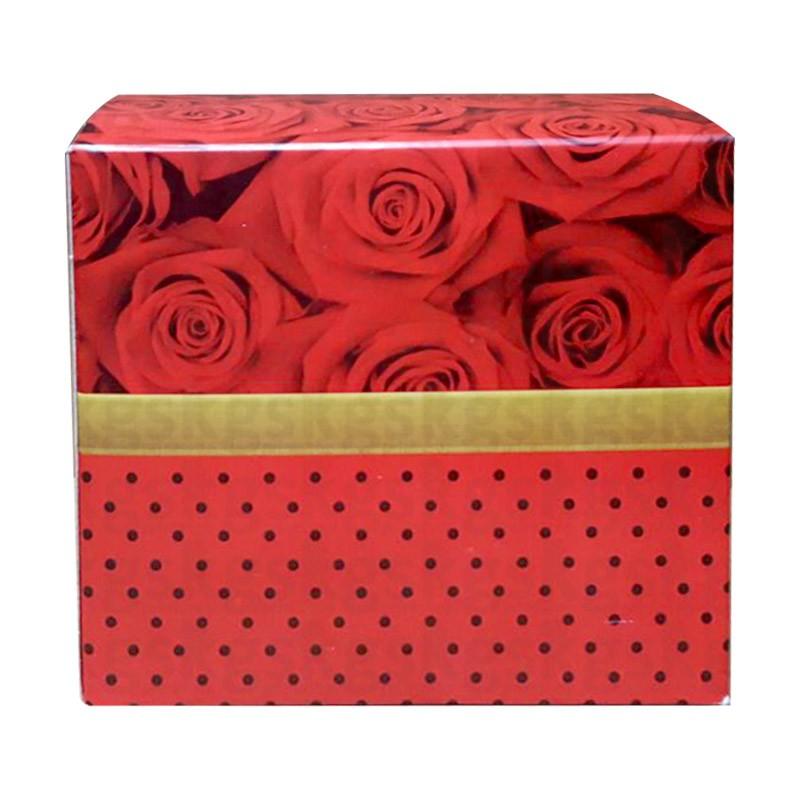 Caixa para caneca floral - pacote com 10 unidades