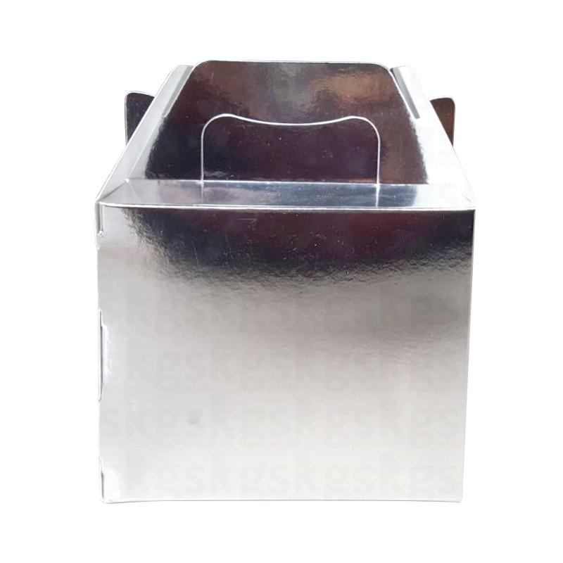 Caixa prateada - pacote com 10 unidades