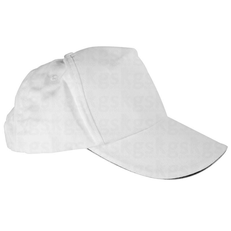 Boné em algodão para transfer - branco