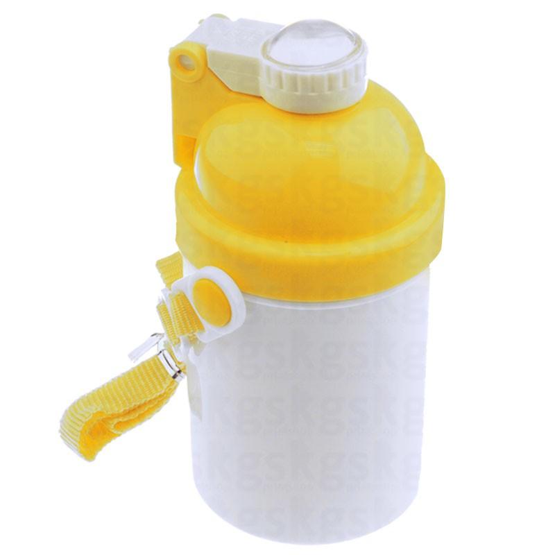 Squeeze infantil 400ml - amarelo