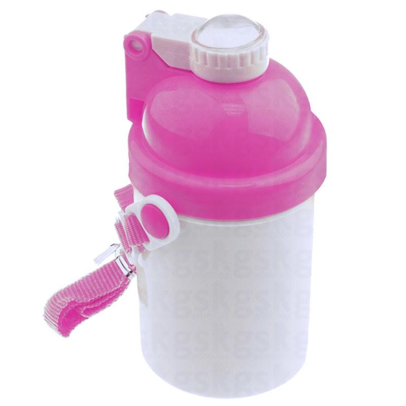 Squeeze infantil 400ml - rosa