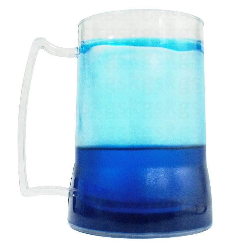 Caneca gel azul