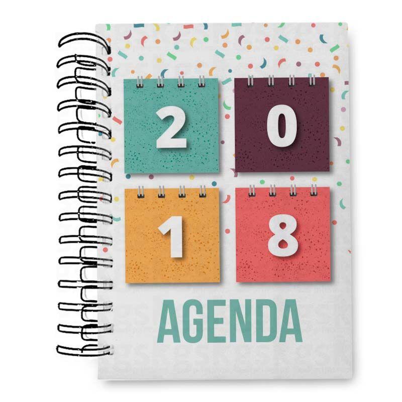 Agenda 2018 - para sublimação