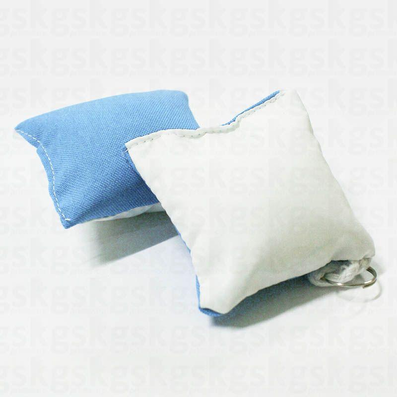 Almochaveiro com caixinha - 5 unidades azul claro